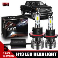 H13 9008 LED Headlight Bulbs For Ford F150 2003-2014 F-250 F-350 Truck 2005-2018