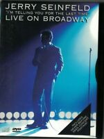 DVD JERRY SEINFELD LIVE ON BROADWAY USED