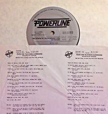 Radio Show: POWERLINE 7/27/90 SIMPLY RED, DAVID SANBORN, CRUSADERS,  BOBBY BROWN
