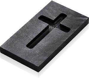 Skyley Cross Graphite Casting Ingot Mold Metal Refining Scrap Melting Casting Mo
