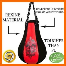 MAIZE PUNCHING BAG BOXING PUNCH HOOK JAB BOB WEAVE COMBINATIONS FITNESS WORKOUT