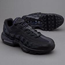 Nike Air Max 95 Essential Zapatillas, UK10, Triple Negro/Negro, 749766 009, og