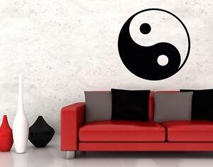 Ying Yang Símbolo - más Alta Calidad Adhesivo Pared Pegatinas