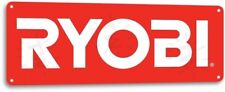 Ryobi Power Tools Mechanic Logo Garage Part Auto Shop Wall Decor Metal Tin Sign