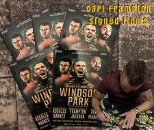 Carl Frampton V Luke Jackson Signed Fight Night Programme With Photo Proof