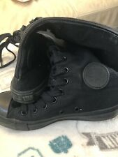 Knee High Converse All Star Black Size UK 5