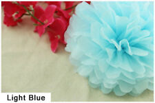 "14"" Tissue Paper Pom Poms Flower Ball Wedding Birthday Party Decoration Color 13"