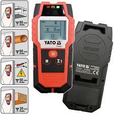 YATO Ortungsgerät für Metall Kabel Holz Leitungssuchgerät Multi-Detektor Scanner