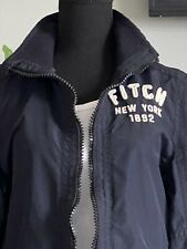 Women's Small Blue Abercrombie & Fitch All Season Weather Warrior Jacket Coat