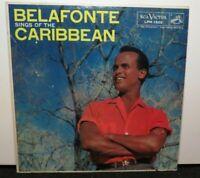 HARRY BELAFONTE SINGS OF THE CARIBBEAN (VG) LPM-1505 LP VINYL RECORD