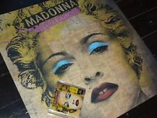 "MADONNA Celebration OFFICIAL UK PROMO POSTER SQUARE 25"" by 25"" Matte Paper NEW"