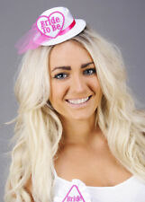 White and Pink Mini Bride To Be Hat