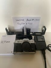Fujifilm X-T20 24.3MP Mirrorless Digital Camera - Silver Body with Cases