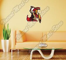 "Spartan Trojan Soldier Sword Shield Wall Sticker Room Interior Decor 20""X25"""