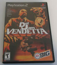 Def Jam Vendetta (Sony PlayStation 2, 2003) PS2 Complete Good ConditionFAST SHIP