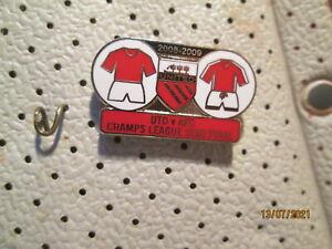 MANCHESTER UNITED vs ARSENAL Champions League Semi Final badge # 1