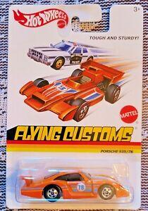 2013 Hot Wheels Porsche 935/78 Flying Customs Series, Orange