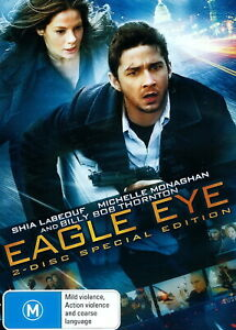Eagle Eye - Action, Thriller, Assassination, Violence - Shia LaBeouf - NEW DVD