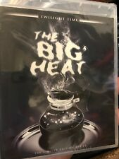 THE BIG HEAT Blu-Ray - Twilight Time, Fritz Lang - BRAND NEW/SEALED Film Noir
