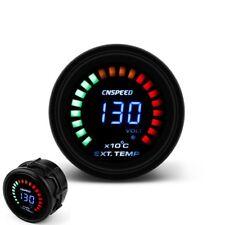"Auto EGT Exhaust Gas Temp Gauge Auto Car LED Digital Temperature Meter 2"" 52mm"