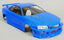 1/10 RC BODY Shell SKYLINE GT-R  -BLUE-  -FINISHED