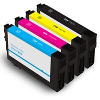 4PK Remanufactured Epson 802 Ink WorkForce Pro WF-4720 WF-4730 WF-4734 WF-4740
