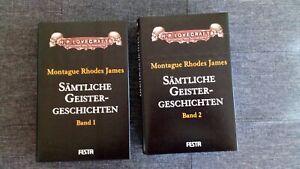 Sämtliche Geistergeschichten Montague Rhodes James Festa Verlag 2 Bände