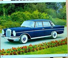 Älteres Blechschild  Oldtimer Mercedes W110S  220SE  230S  300SE gebraucht used
