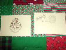2016 Harry Potter Universal Studios Hollywood Hogsmeade Postmarked Envelope MINT