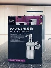 Easy Home Soap Dispenser With Glass Body