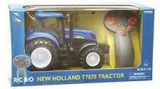 Modellino Trattore agricolo Holland T7040 Scala 1 32 Polistil 02608