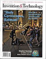 Invention And Technology Magazine Steadicam Stephen Hawking Galileo Boats 2009