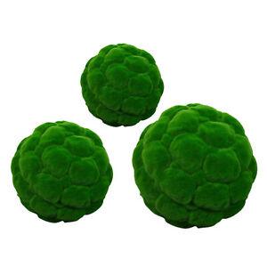 Green Moss Decorative Ball DIY Party Weddings Planter Display Decor Props