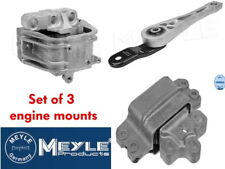 MEYLE ENGINE & GEARBOX MOUNT SET OF 3 GOLF MK5 GTI 2.0 TFSI