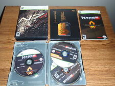 MASS EFFECT 2 COLLECTORS EDITION XBOX 360 GAME COMPLETE