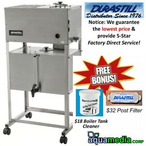 240-Volt Durastill 46 L./Day Auto Water Distiller w/ 40 L. Limited Inventory