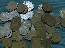 1916-D Lincoln Wheat Cent FULL ROLL average circulated penny $2.99 combined S&H