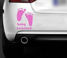 Baby On Board  CAR VAN 4X4 ,BUMPER,WINDOW BODYWORK VINYL STICKER/ DECAL
