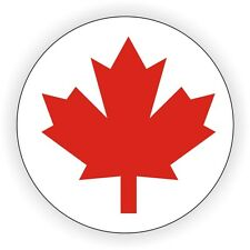Canadian Flag Hard Hat Decal / Helmet Sticker / Label Canada Maple Leaf