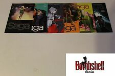 Saga 19 20 21 22 23 24 Complete Vaughan Staples Comic Lot Run Set 1st Print