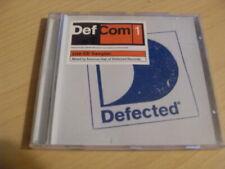 DEF COM1 LIVE CD SAMPLER MIXED BY SEAMUS HAJI OF DEFECTED RECORDS
