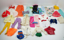 Vintage Doll Clothes Collection 28 Piece Lot Barbie & Friends Sold As Found