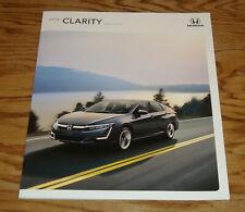 Original 2018 Honda Clarity Plug-In Hybrid Sales Brochure 18