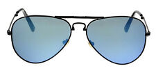 NEW MCM MCM101S 002 BLACK FOLDABLE AVIATOR SUNGLASSES AUTHENTIC 58-14-140 ITALY