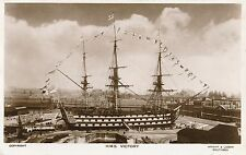 POSTCARD  SHIPS  NELSON  VICTORY
