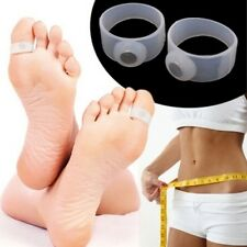Magnetic Toe Ring Slimming Weight Loss Health Foot Massage 1 Pair 2 Rings NEW