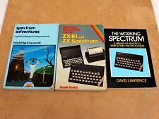 VINTAGE SINCLAIR SOFTWARE PROGRAM BOOKS ZX81 / SPECTRUM (3)