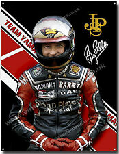 BARRY SHEENE METAL SIGN.BRITISH WORLD CHAMPION GRAND PRIX MOTORCYCLE ROAD RACER.