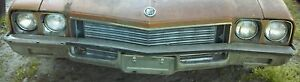 * 1972 72 BUICK SKYLARK RIGHT PASSENGER FRONT FENDER pick up only* NO SHIPPING *