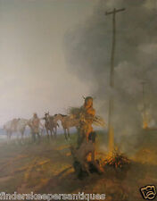 FIRES ON THE OREGON TRAIL BY TOM LOVELL 13/1000 THE GREENWICH WORK SHOP